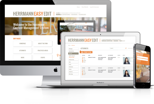 HerrmannEasyEdit 4.0 CMS Responsive Website Design